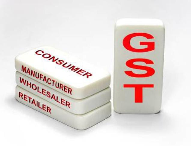 This image helps us understand gst tax as a part of THe buzz stand series