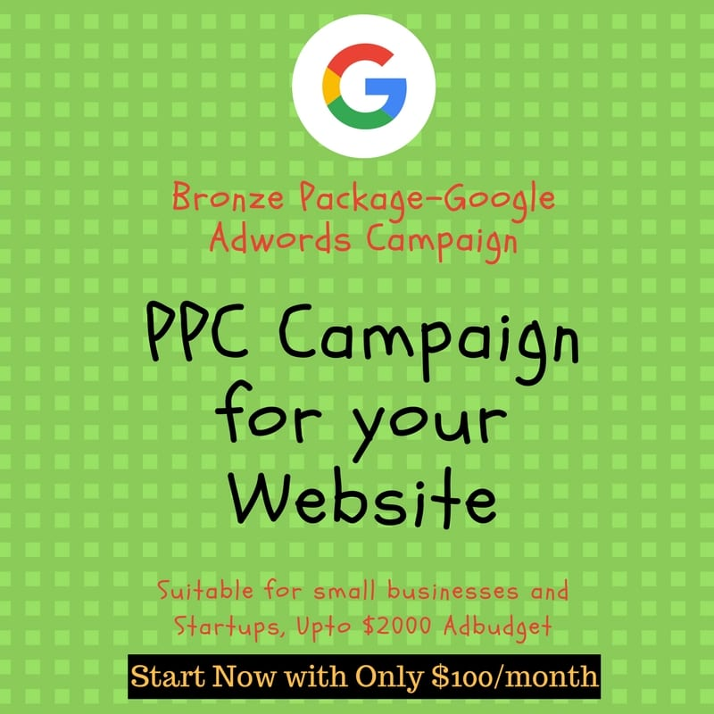 This bronze ppc package will help you improve you bring traffic through ppc. Get higher conversion rate for ppc